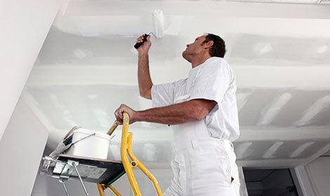 schilderen plafond